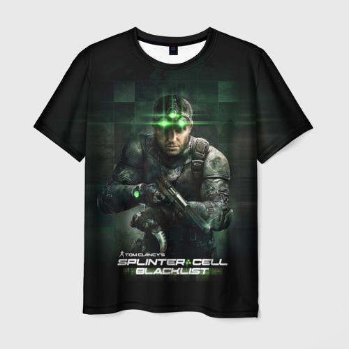 Мужская футболка 3D  Фото 03, Splinter Cell
