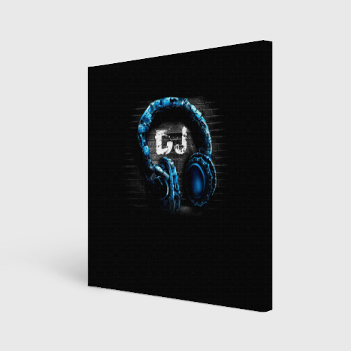 Холст квадратный DJ Фото 01