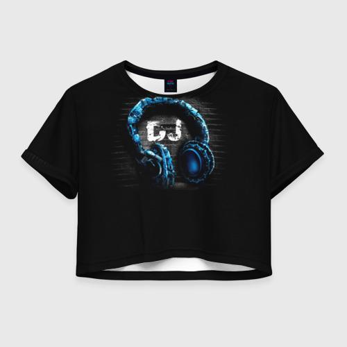 Женская футболка Cropp-top DJ Фото 01