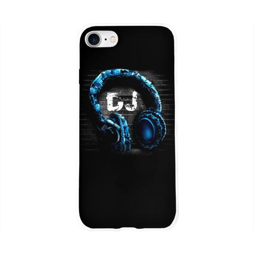 Чехол для Apple iPhone 8 силиконовый глянцевый DJ Фото 01