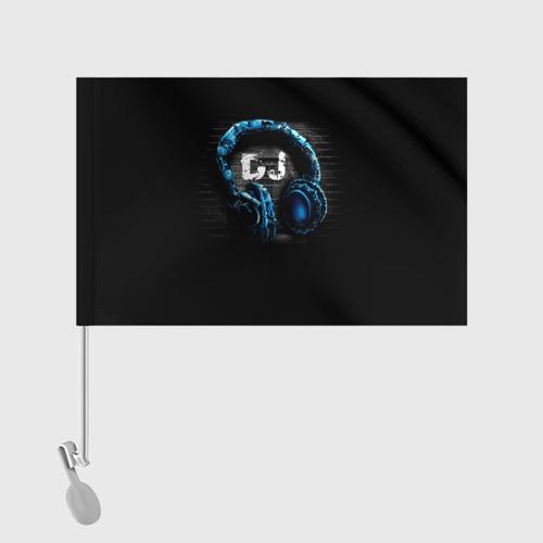 Флаг для автомобиля DJ Фото 01