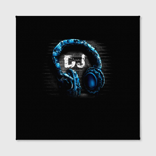 Холст квадратный  Фото 02, DJ