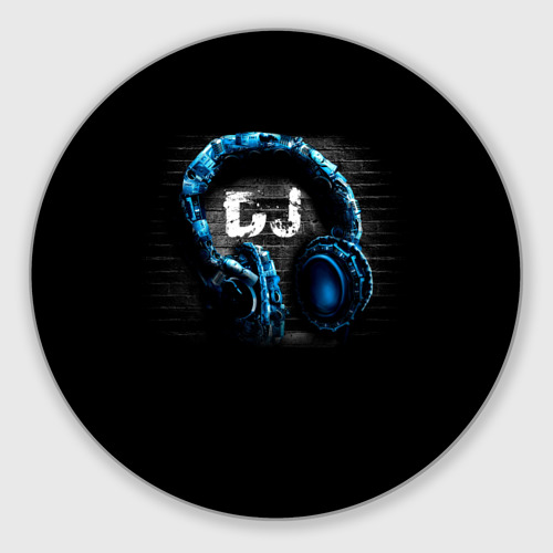 Коврик для мышки круглый DJ Фото 01