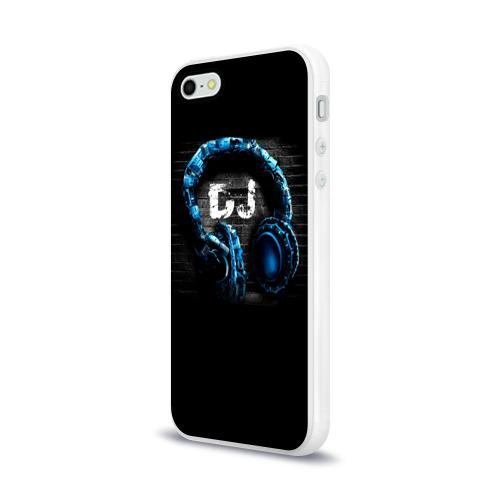 Чехол для Apple iPhone 5/5S силиконовый глянцевый DJ Фото 01