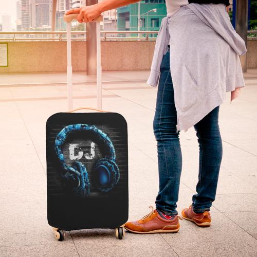 Чехол для чемодана 3D DJ Фото 01