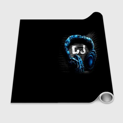 Бумага для упаковки 3D DJ Фото 01