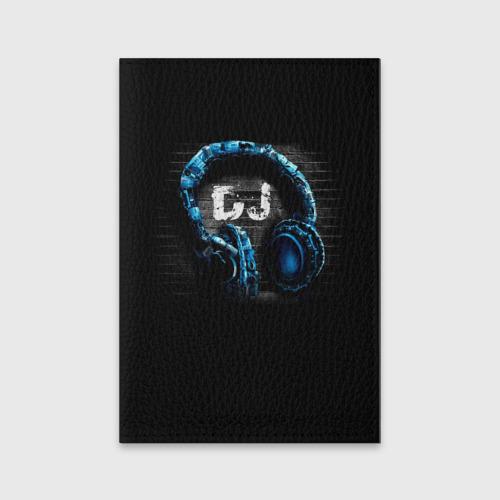 Обложка для паспорта матовая кожа DJ Фото 01