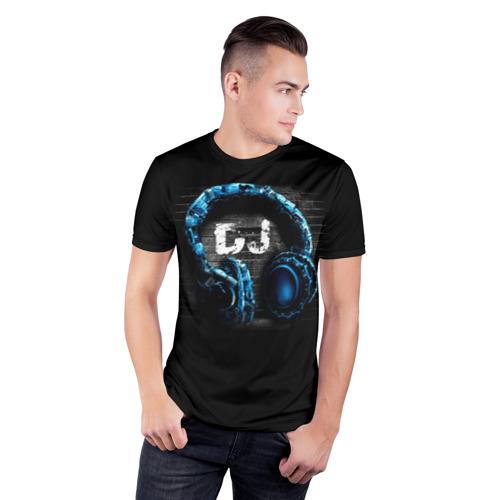 Мужская футболка 3D спортивная  Фото 03, DJ