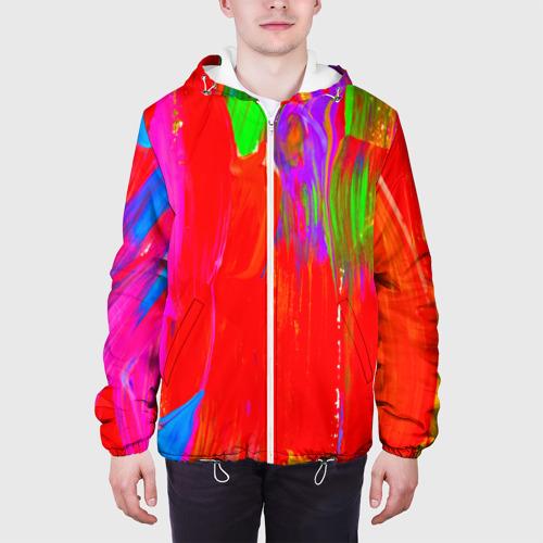 Мужская куртка 3D  Фото 04, Абстракция