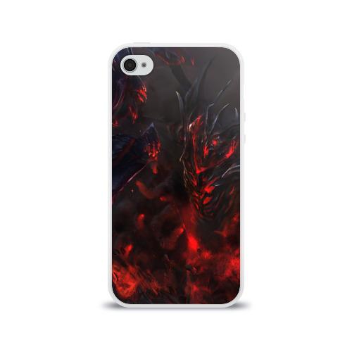 Чехол для Apple iPhone 4/4S силиконовый глянцевый Dota 2 Фото 01