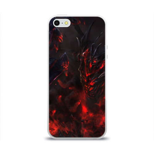 Чехол для Apple iPhone 5/5S силиконовый глянцевый Dota 2 Фото 01