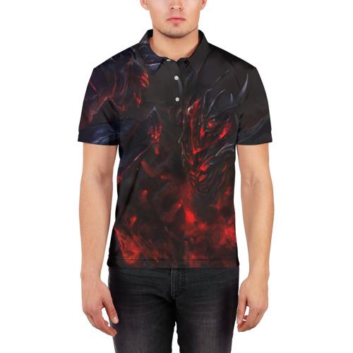 Мужская рубашка поло 3D  Фото 03, Dota 2