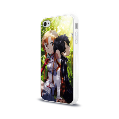 Чехол для Apple iPhone 4/4S силиконовый глянцевый  Фото 03, Nature