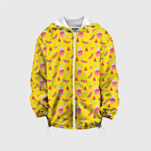 Детская куртка 3D  Фото 01, Арбузы