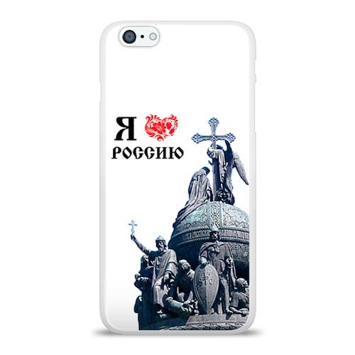Чехол для Apple iPhone 6Plus/6SPlus силиконовый глянцевый  Фото 01, Я - русский