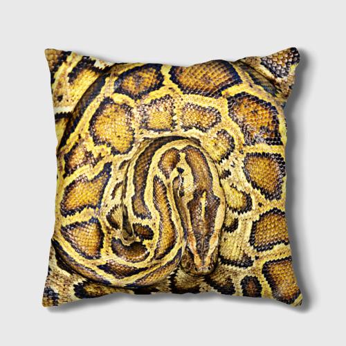 Подушка 3D  Фото 02, Змея
