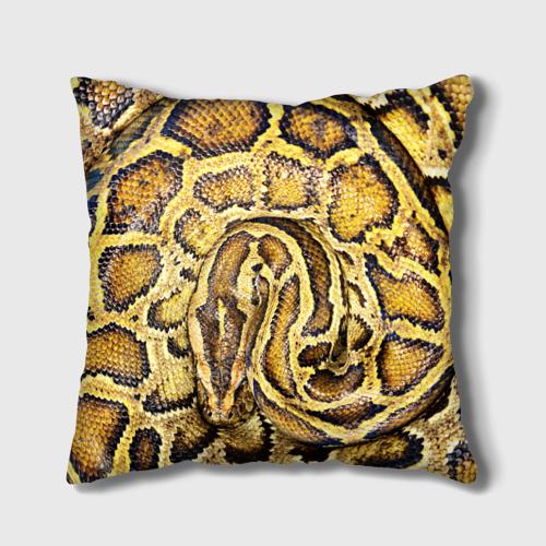Подушка 3D  Фото 01, Змея