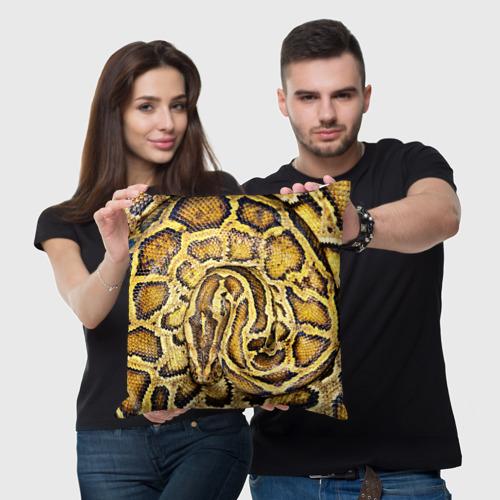 Подушка 3D  Фото 05, Змея