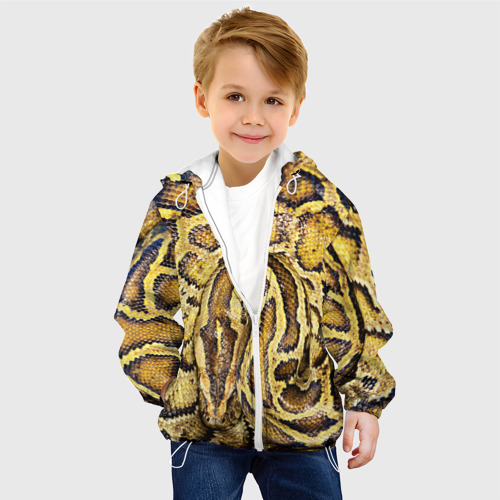 Детская куртка 3D  Фото 03, Змея