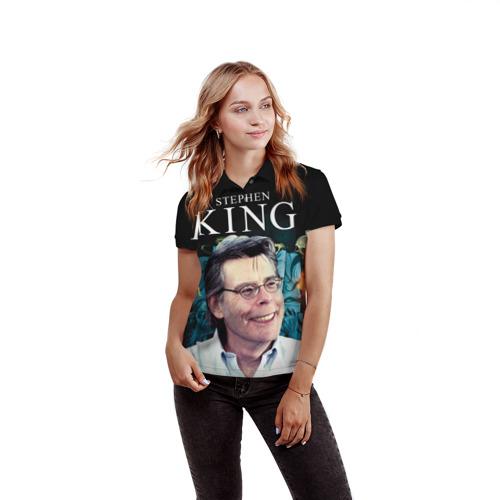 Женская рубашка поло 3D  Фото 03, Стивен Кинг 8