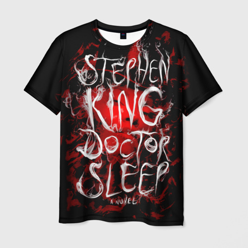 Мужская футболка 3D Стивен Кинг 10 Фото 01
