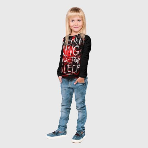 Детский лонгслив 3D Стивен Кинг 10 Фото 01