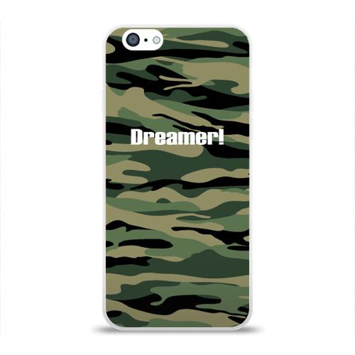 Чехол для Apple iPhone 6 силиконовый глянцевый Dreamer! Фото 01