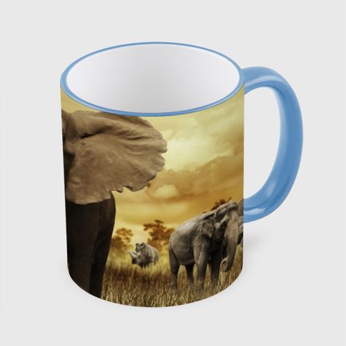 Кружка с полной запечаткой  Фото 01, Могучий слон