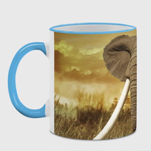 Кружка с полной запечаткой  Фото 04, Могучий слон