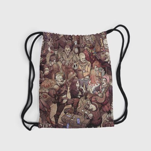 Рюкзак-мешок 3D Ведьмак и компания Фото 01