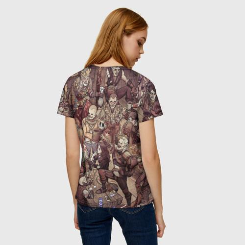 Женская футболка 3D Ведьмак и компания Фото 01
