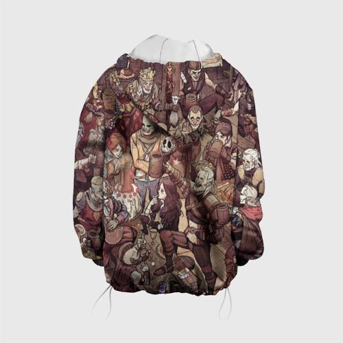 Детская куртка 3D Ведьмак и компания Фото 01