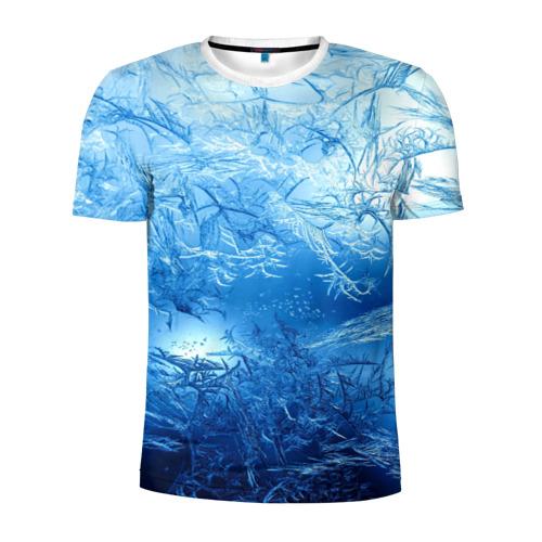 Мужская футболка 3D спортивная  Фото 01, Иней