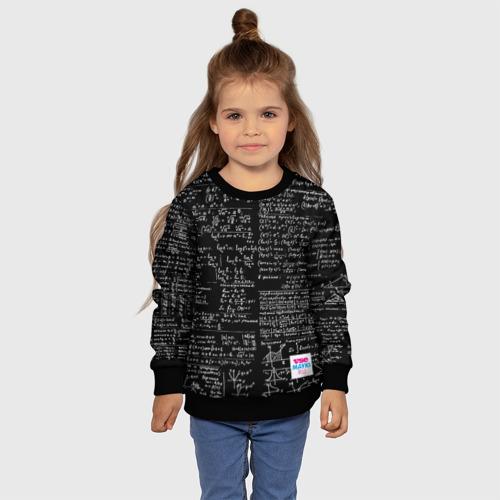 Детский свитшот 3D Шпаргалки Фото 01