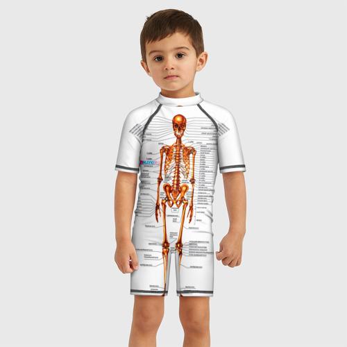 Детский купальный костюм 3D Шпаргалки Фото 01