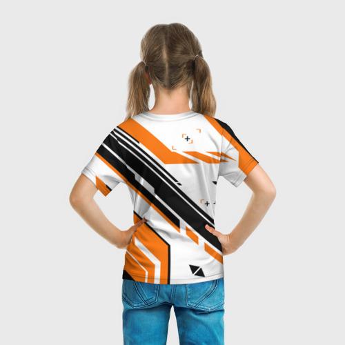 Детская футболка 3D cs:go - Asiimov P90 Style Фото 01