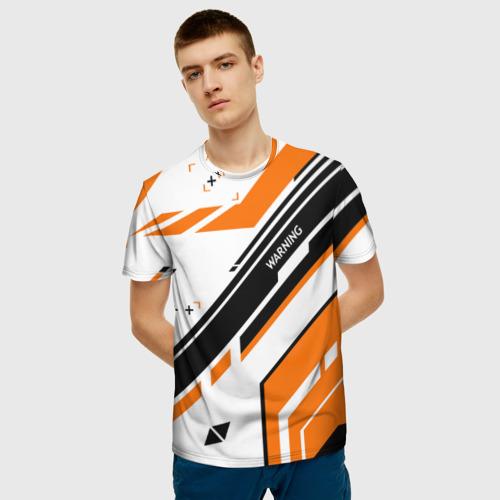 Мужская футболка 3D  Фото 03, cs:go - Asiimov P90 Style