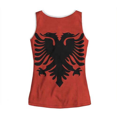Женская майка 3D  Фото 02, Сборная Албания