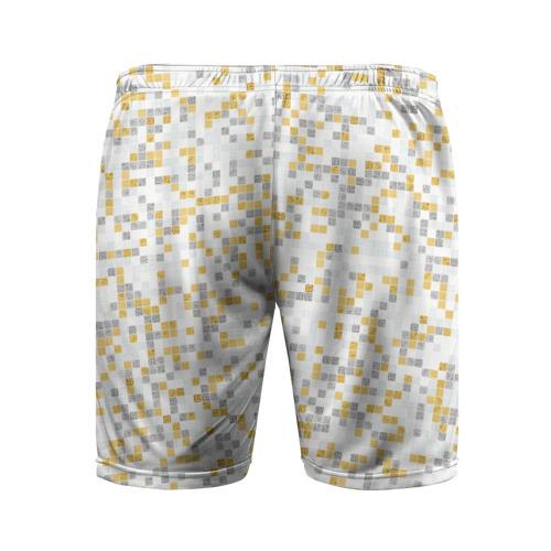 Мужские шорты 3D спортивные  Фото 02, Мозаика