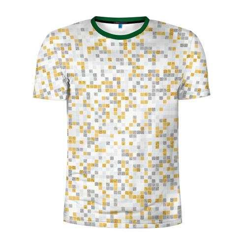 Мужская футболка 3D спортивная  Фото 01, Мозаика