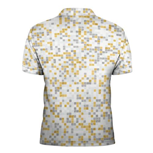 Мужская рубашка поло 3D  Фото 02, Мозаика