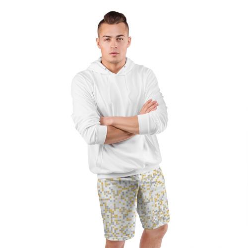 Мужские шорты 3D спортивные  Фото 05, Мозаика