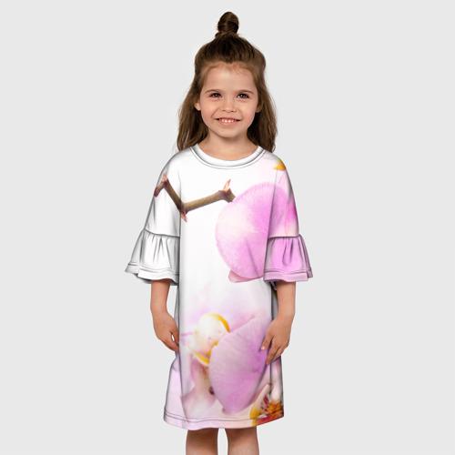 Детское платье 3D Цветы