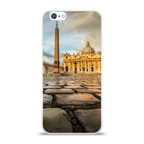 Чехол для Apple iPhone 6 силиконовый глянцевый  Фото 01, Италия (Рим)