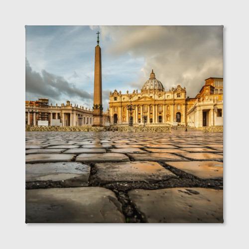 Холст квадратный  Фото 02, Италия (Рим)