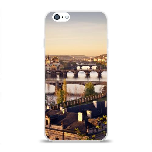 Чехол для Apple iPhone 6 силиконовый глянцевый  Фото 01, Чехия (Прага)