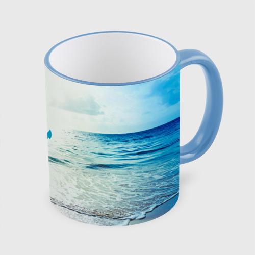 Кружка с полной запечаткой  Фото 01, I love sea