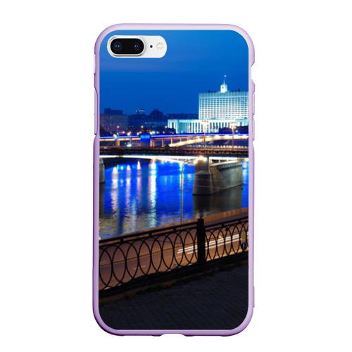 Чехол для iPhone 7Plus/8 Plus матовый Москва Фото 01