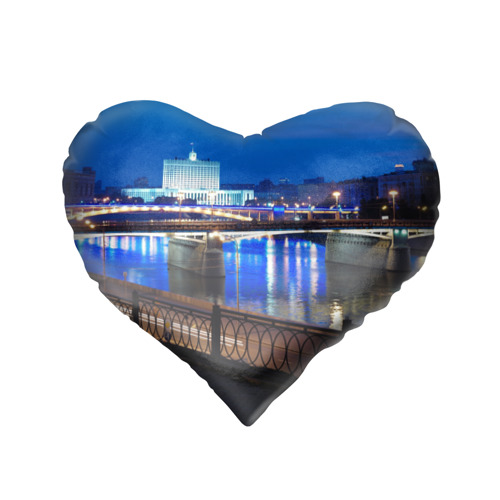 Подушка 3D сердце  Фото 02, Москва