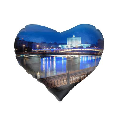 Подушка 3D сердце  Фото 01, Москва